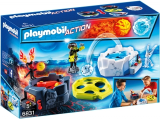 Fire & Ice Action Game 6831