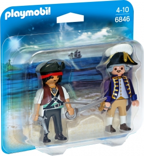 Pirate and Soldier duo 6846