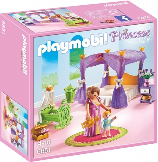 Playmobil Princess Chamber with Cradle 6851