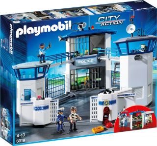 Police Headquarters with Prison 6919