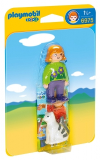 Playmobil Woman with Cat 6975