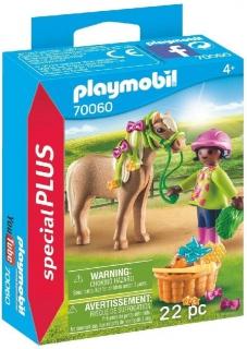 Playmobil Girl with Pony 70060