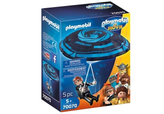 Playmobil: The Movie Rex Dasher with Parachute 70070