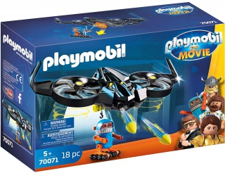 Playmobil: The Movie Robotitron with Drone 70071