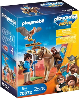 Playmobil: The Movie Marla with Horse 70072