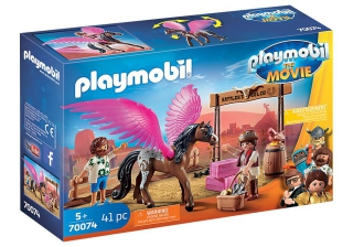Playmobil: The Movie Marla and Del with Flying Horse 70074