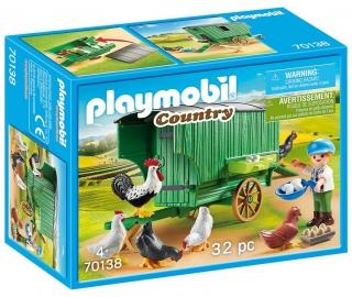 Playmobil Chicken Coop 70138