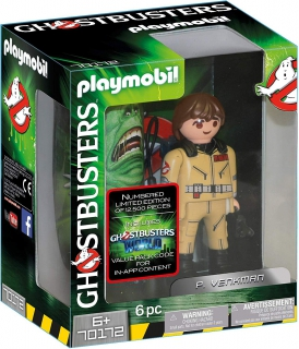 Playmobil Ghostbusters Collector's Edition P. Venkman 70172