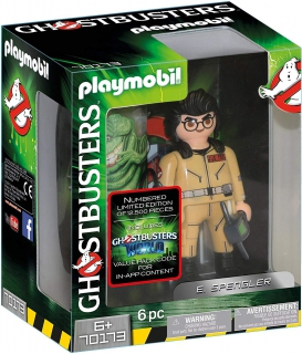 Playmobil Ghostbusters Collector's Edition E. Spengler 70173
