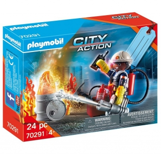 Playmobil Fire Rescue Gift Set 70291