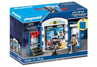 Playmobil Police Station Playbox 70306