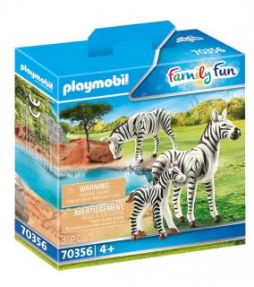 Playmobil Zebra with Foal 70356