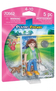 Playmobil Playmo-Friends Girl with Kittens 70562