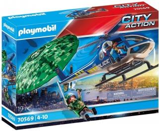 Playmobil Police Parachute Search 70569