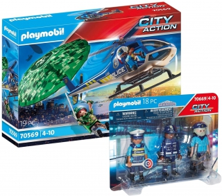Playmobil Police Helicopter Search Bundle 70569669