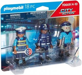 Playmobil Police Figure Set 70669