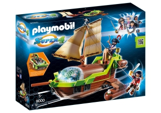 Playmobil Pirate Chameleon with Ruby 9000