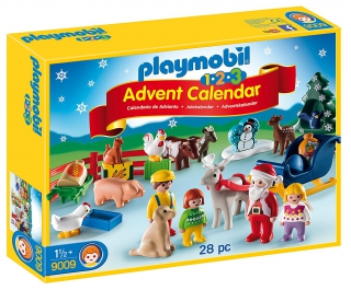 Playmobil Advent 123 Christmas on the Farm 9009