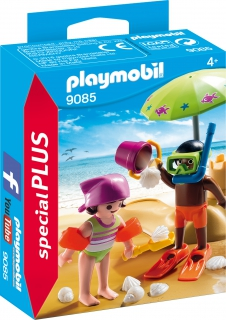 Playmobil Children at the Beach 9085