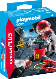 Playmobil Rock Blaster with Rubble 9092