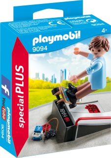 Playmobil Skateboarder with Ramp 9094