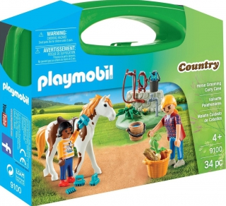Playmobil Horse Grooming Carry Case 9100