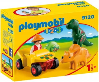 Playmobil Explorer with Dinos 9120