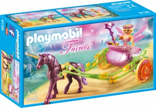 Playmobil Unicorn-Drawn Fairy Carriage 9136