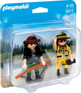 Playmobil Ranger and Hunter 9217