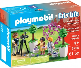 Playmobil Flower Children with Photographer 9230
