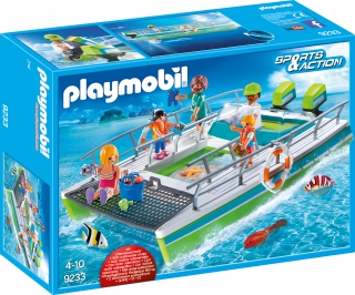 Playmobil Glass-Bottom Boat with Underwater Motor 9233