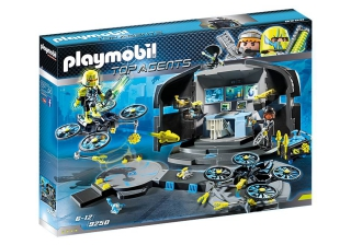 Playmobil Dr Drone's Command Base 9250