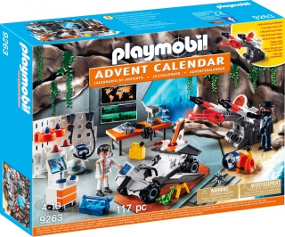 Playmobil Advent Calendar - Top Agents 9263