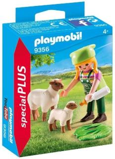 Playmobil Farmer with Sheep 9356