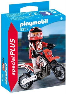 Playmobil Motocross Driver 9357