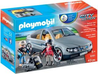 Playmobil Tactical Unit Undercover Car 9361