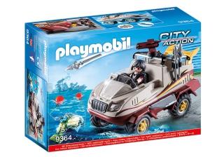 Playmobil Tactical Unit Amphibious Truck 9364
