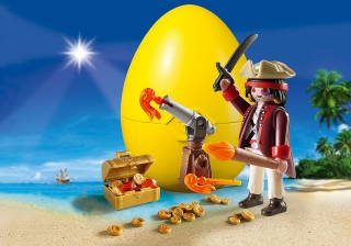 Playmobil Pirate with Canon 9415