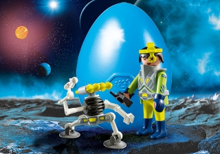 Playmobil Space Agent with Robot 9416
