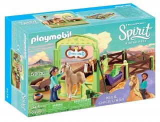 "Playmobil Horse Box ""Pru & Chica Linda"" 9479"