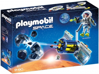 Playmobil Satellite Meteroid Laser 9490