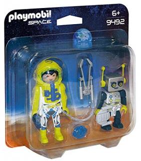 Playmobil Astronaut and Robot Pack 9492