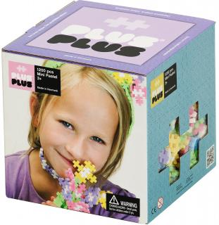 Plus-Plus Mini Pastel 1200 pcs