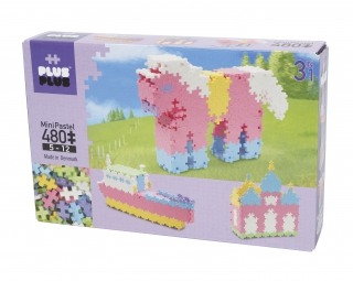 Plus-Plus Mini Pastel 3-in-1 480 pcs 3722