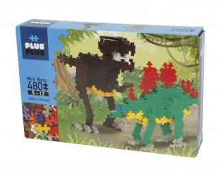 Plus-Plus Mini Basic 480 DINOSAURS 3741