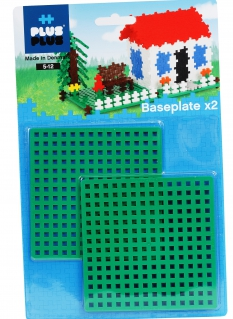 Plus-Plus 12 x 12 BASEPLATE DUO PACK 4022