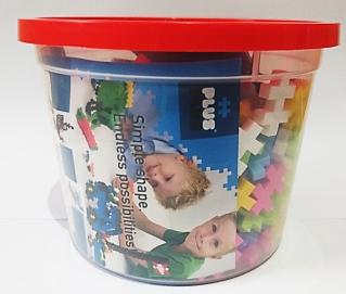 Plus-Plus Mini Pastel 400 Piece Tub 8002