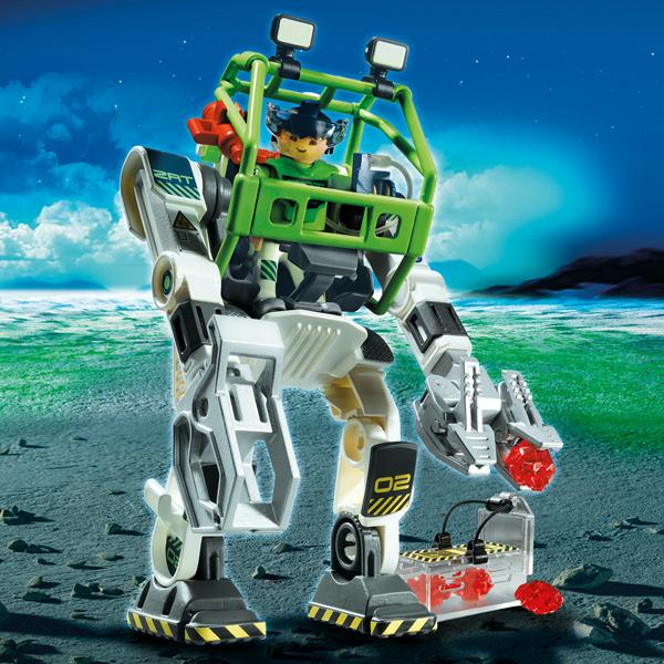 Playmobil e rangers collectobot robot 5152 table for Table playmobil