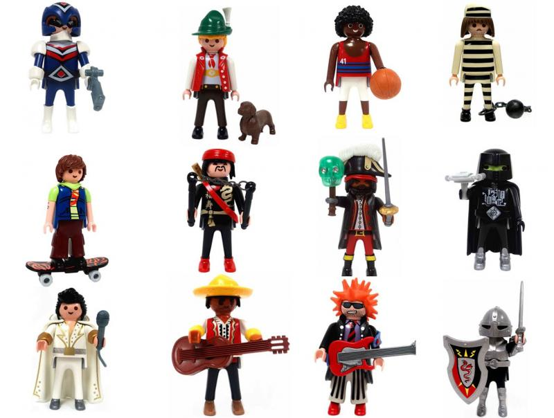 Series 2 Dragon Knight Boys NEW 2 x Playmobil 5157 Mexicans