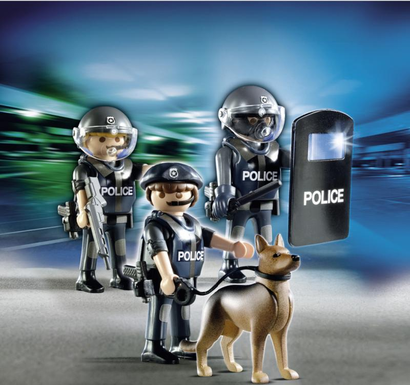 Playmobil Police Special Forces 5186 Table Mountain Toys